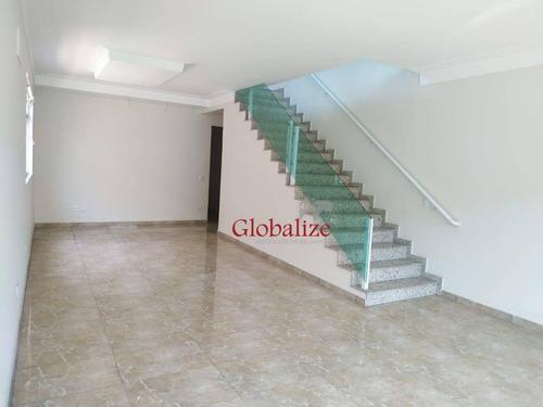 Casa Com 3 Dormitórios À Venda, 300 M² Por R$ 1.209.000,00 - Marapé - Santos/sp - Ca0085