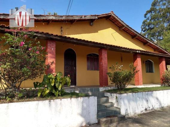 Linda Chácara Com Escritura, Piscina, Pomar Formado, 03 Dormitórios À Venda, 5000 M² Por R$ 350.000 - Rural - Socorro/sp - Ch0525