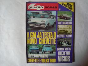 Revista Quatro Rodas N.189 / Abril De 1976
