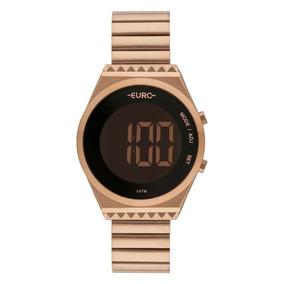 Relógio Euro Fashion Fit Slim Rose Feminino Eubjt016ab/4j