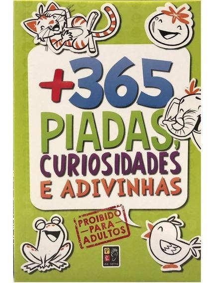 Livro 365 Piadas, Curiosidades E Adivinhas