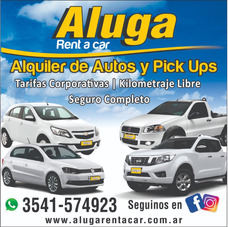 Alquiler De Autos, Pick Up, Furgones.. Sin Chofer!