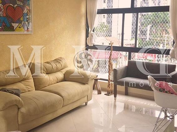 Apartamento Para Venda No Bairro Vila Mariana Em São Paulo - Cod: Mg779 - Mg779
