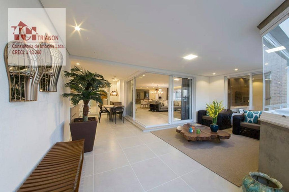 Apartamento Com 4 Dormitórios À Venda, 327 M² Por R$ 2.363.000,00 - Campestre - Santo André/sp - Ap2096