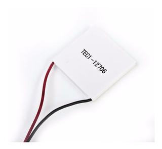 Celda Peltier 12706 Enfriador Termoelectrico 12v 60w 4x4cm