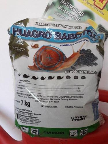 Imagen 1 de 3 de Cebo Babosas Y Caracoles Babotox Granulado 1 Kg Insecticida