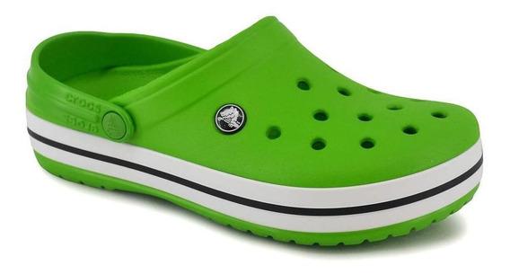 Sandalia Crocs Crocsband Unisex Lime Mc