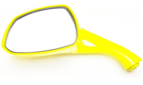 Retrovisor Esquerdo Amarelo Burgman 125i Original Promoção