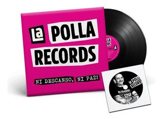 Pack La Polla Records Ni Descanso, Ni Paz! *vinilo+cd+reme