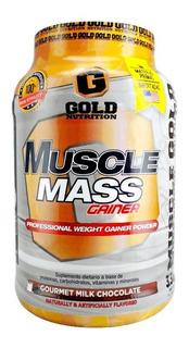 Muscle Mass 3.3lbs 1.36kg Gold Nutrition Ganador Peso Y Masa