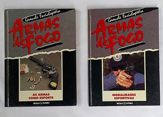 Armas De Fogo Grande Enciclopédia 2 Livros Capa Dura