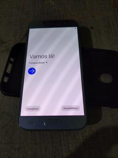 Celular Samsung J7 Pro 64gb Azul Excelente Estado