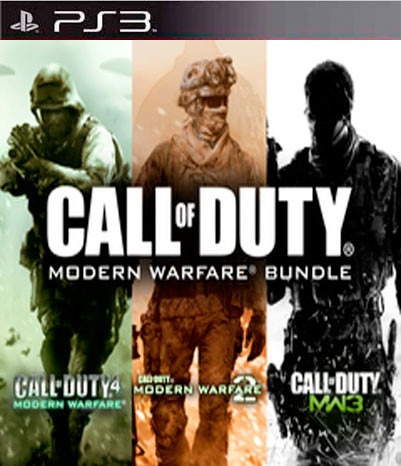 Call Of Duty Modern Warfare Trilogy 1-2-3 Ps3 Playstation 3
