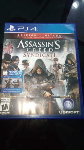Assassin's Creed: Syndicate Ps4 (como Nuevo)
