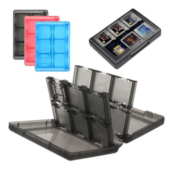 Box Porta Cartuchos Para Nintendo Switch 24 Em 1