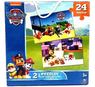2 Puzzle Rompecabezas Paw Patrol 24 Piezas Delicias3
