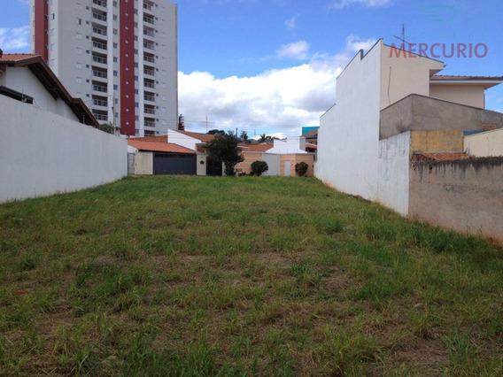 Terreno Comercial À Venda, Vila Aviação, Bauru. - Te0366