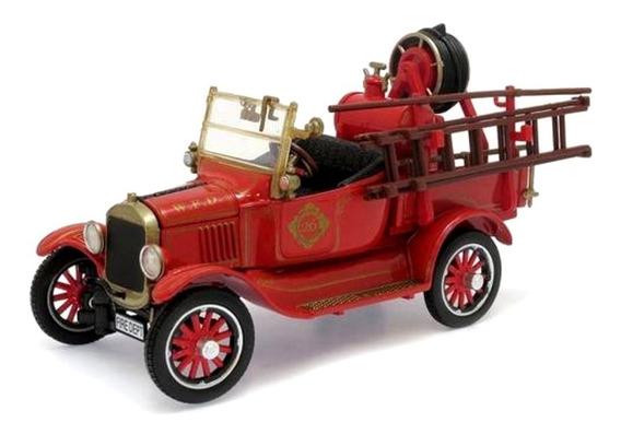 Miniatura Ford Model T Bombeiros 1920 Unique Réplicas 1/32