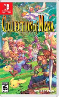 Juego Collection Of Mana Nsw Nuevo Original