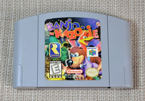 N64 Banjo Kazooie Original Nacional Excelente Estado