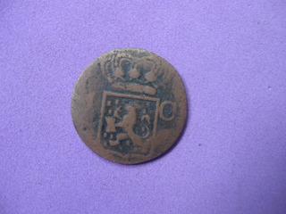Moneda Indias Orientales, Holanda, Indonesia, 1838 Km# 70