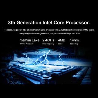N4100 2.4 Ghz Quad Core Gráficos 600 Teclast X4 Para Intel G