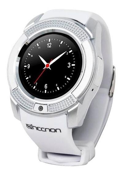 Smart Watch Bluetooth Tarjeta Sim Llamadas 3g3t Blanco Necnon Full