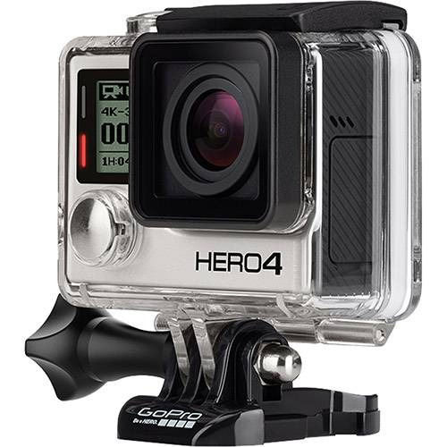 Câmera Digital Gopro Hero 4 Black Adventure 12mp Com Wifi Bl