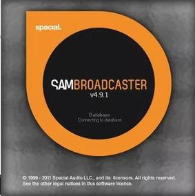 Sam Broadcaster 4.9.1 - 2019 - Envio Imediato