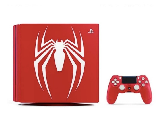 Ps4 Pro 1tb 4k Limited Edition Spider Man - Frete Gratis