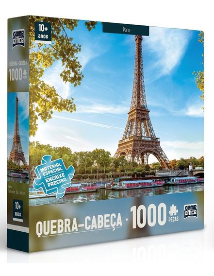 Puzzle Quebra Cabeça 1000 Peças Capitais Europeias Toyster