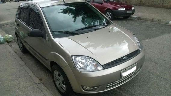 Ford Fiesta, Prata, Ano 2004/2005, Motor Zetec Rocan 1.0