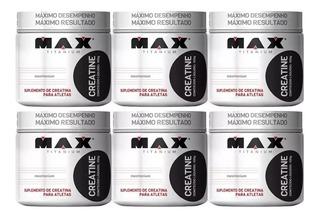 Kit 6x Creatina - Max Titanium - Atacado!