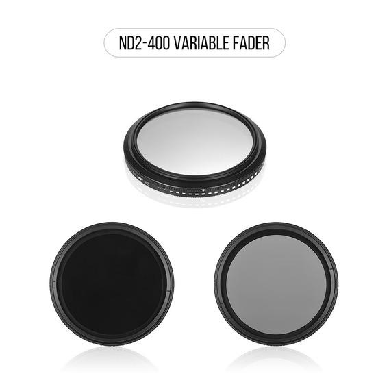 Zomei 58mm Ultra Slim Fader Varivel Nd2-400 Nd Neutro