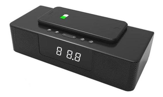 Soundbar Bluetooth Carregador Celular Inducao Home Theater