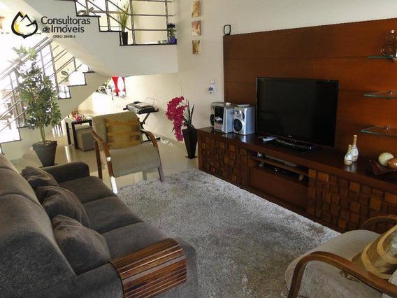 Casa Residencial À Venda, Condomínio Campos Do Conde, Paulínia - Ca0138. - Ca0138