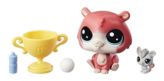 Littlest Pet Shop Pack X 2 Hamster 2-103 Molly Mouseby