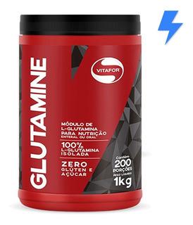 Glutamine Pura 1kg / 200 Doses - Vitafor
