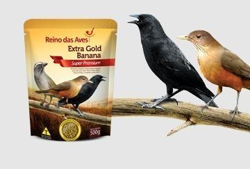 Extra Gold Banana Super Premium 02 (dois) Pacote De 500g Cd