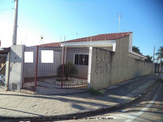 Casa Para Locação Em Sorocaba, Vila Fiori, 2 Dormitórios, 1 Suíte, 1 Banheiro, 1 Vaga - Loc-811