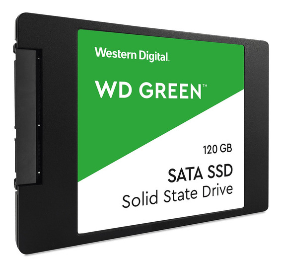 Hd Ssd 120gb Western Digital Green Sata Iii 2.5 Wds120g2g0a