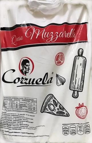 Muzzarella Corzuela Plancha De 10 Kilos