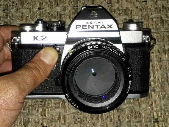 Pentax K2 Com 50mm F/1.4