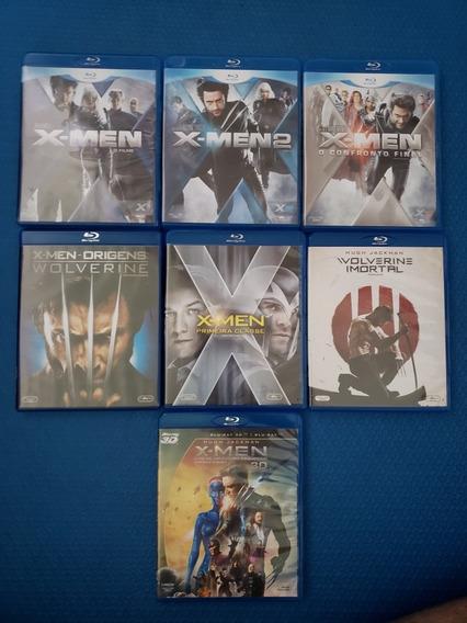 Coleção Blu-ray X-men 7 Filmes