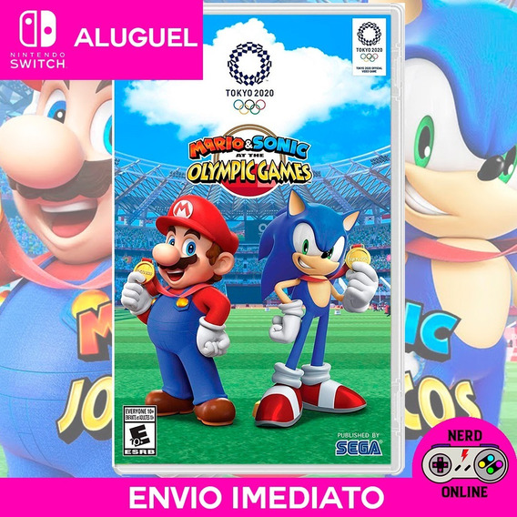 Mario & Sonic At The Olympic Games Tk 2020 ( Aluguel )
