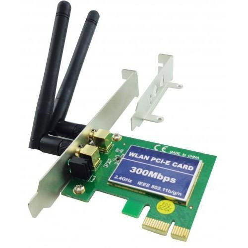 Placa Pci Express Wireless 300 Mbps Low Profile Feasso