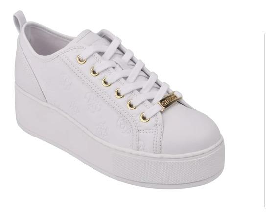 Tenis Guess, Neeka Platform, Sneakers Blancos