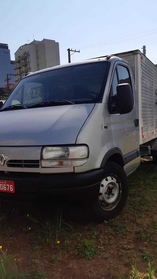 Renault Master Dci 120 Chassi C/baú