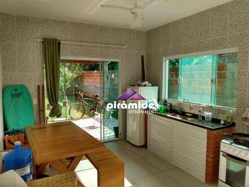 Casa Com 2 Dormitórios À Venda, 50 M² Por R$ 210.000,00 - Sertão Do Meio E S.da Quina - Ubatuba/sp - Ca6060