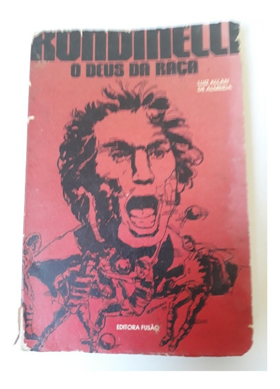 Livro Rondinelli O Deus Da Raça Ed Fusão Raro Flamengo